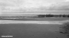 Sanddelta | Blick Richtung Norden über den Bodensee | 22.11.1970 | Foto bereitgestellt von Lotti und Bruno Keist